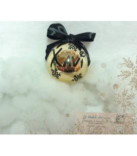 Bola de navidad personalizada colores