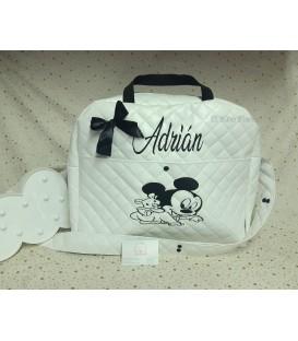 Bolso maternidad-carro Mickey osito