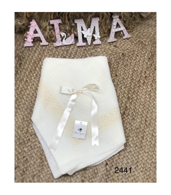 Toquilla perlé encaje Alma