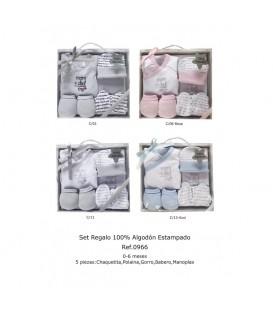 Set regalo Mama+Papa 5 piezas
