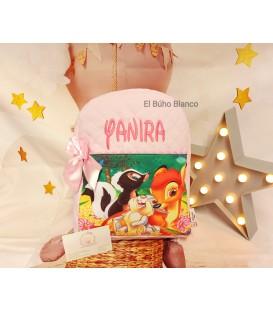 Mochila Bambi amigos