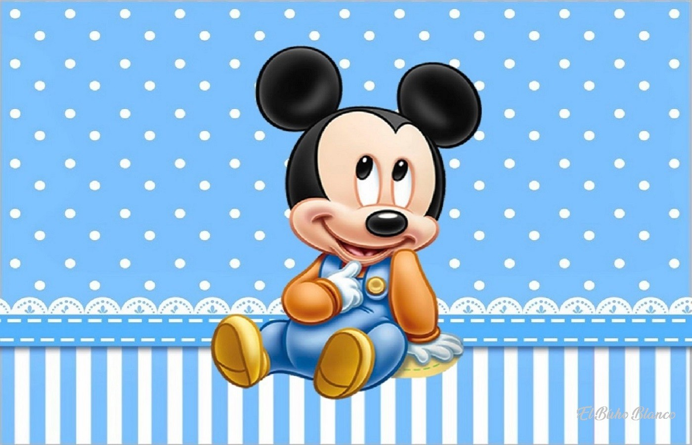 Mickey bebé
